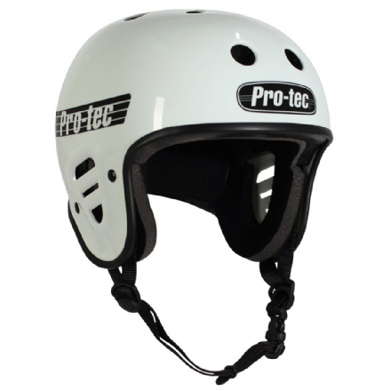 Pro-Tec Full Cut Certified Helmet Gloss White Medium
